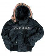 куртка летная N2B black