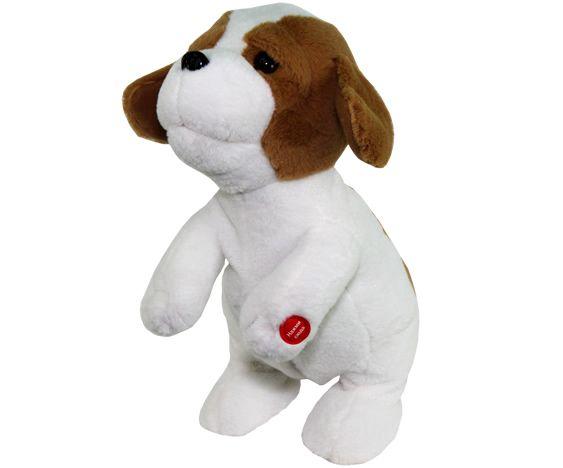 Ласковый щенок. Интерактивная игрушка.
