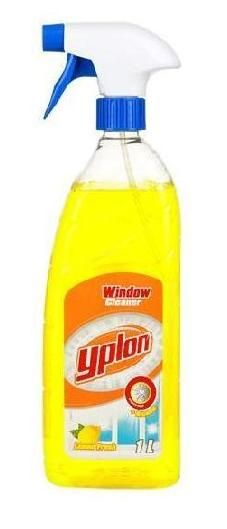 Yplon спрей для мытья стекол Lemon Fresh, 1 л