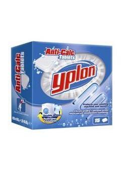 Yplon Таблетки от накипи для стиральных машин 15 х 16 гр