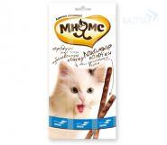 Мнямс Лакомые палочки для кошек с лососем и форелью (3х5 г)