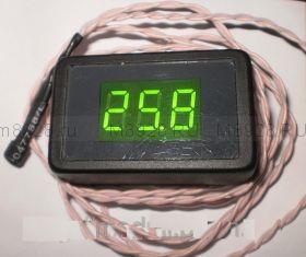 Термометр Т-036-DS-А красный  +125°С
