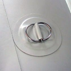 Рым с двумя кольцами на надувные лодки ПВХ