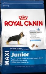 Royal Canin maxi junior для щенков до 15 мес. собак крупных (25-45 кг) размеров 15 кг.