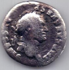 денарий Веспасиан .Рим 69-79 гг.