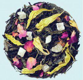 Герцог Мальборо  - индийский черный чай и тайваньский чай сен-ча с натуральными ароматизаторами.