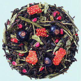 Загадка Клеопатры  - смесь черного и зеленого чая Сен-ча с натуральными ароматными добавками.