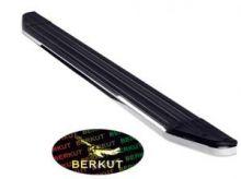 Подножки боковые, Berkut, окантовка из нерж. стали