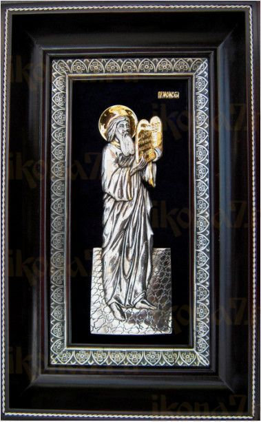 Моисей, пророк (18х29), серебро