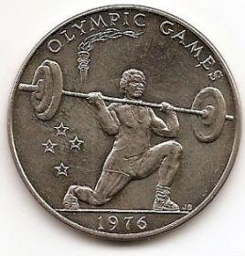 Тяжелая атлетика Олимпийские игры в Монреале 1 тала Самоа 1976