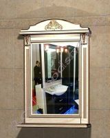 """Зеркало для ванной """"Руссильон PROVENCE-65 светлое дерево"""""""