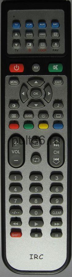 Пульт IRC Aiwa TV,TV/VCR,VCR,AUX 01F