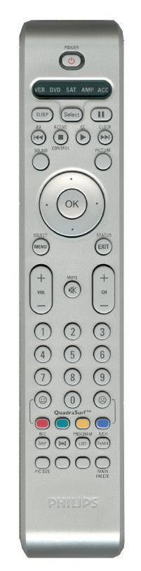 Пульт для Philips RC4331/01H (TV) (26PW84, 26PW8402, 26PW8402/37, 26PW840237, 27PT8302, 27PT8302/37, 27PT830237, 30PW8402, 30PW8402/37, 30PW840237, 30PW85, 30PW8501/37, 30PW8502/37, 30PW850237, 32PT83, 32PT830, 32PT8302, 32PT8302 / 37, 32PT830237)
