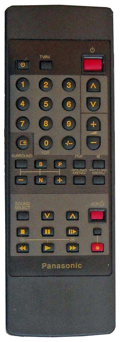 Пульт для Panasonic EUR50703 (TV) (TC-14L1R, TC-25V50R, TC-25V70R, TC-M29, TX-26V2X, TX-29V2X, TX-29VIX, TX-33V1EE)