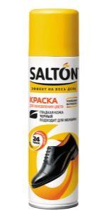 SALTON Краска для гладкой кожи, цвет черный, 250 мл