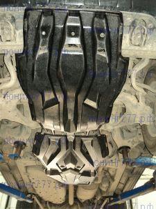 Защита картера и кпп, АВС-Дизайн, композит 10мм