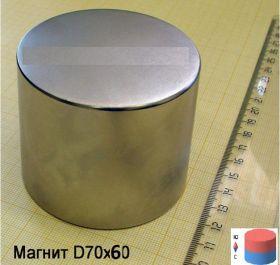 Магнит неодимовый 70х60 мм 300кг