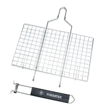 FORESTER MOBILE. Пикник под ключ! Решетка-гриль со съёмной ручкой, 22 х 35 см