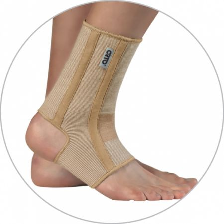 Бандаж с ребрами жесткости на голеностопный сустав Orto BAN 400
