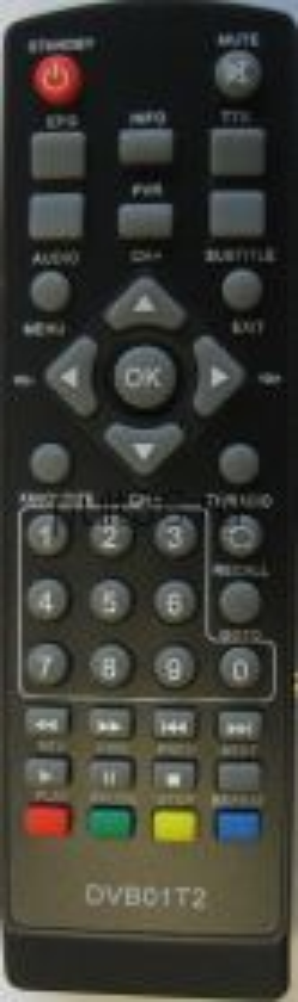 Пульт ДУ DVB-T2 Hyundai QF-6222 DVB01T2 ic Airtone DB-2206/ Telefunken dvb-t2
