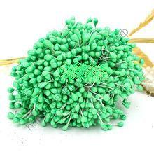 тычинки жемчужные крупные  зелёные