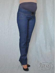 Джинсы для беременных т.синие Р-110