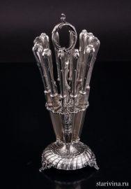 Десертные ножи, Berndorf, Австрия, 1910-1915 гг