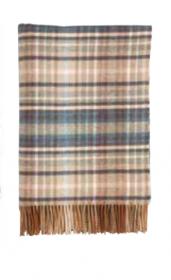 Шотландский плед, 100 % шерсть ягнёнка, расцветка (тартан) шотландского замка Хаттон, Hatton Castle ,плотность 6