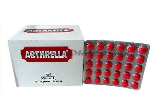 Артрелла антиревматический препарат в таблетках Чарак | Charak Arthrella Tablets