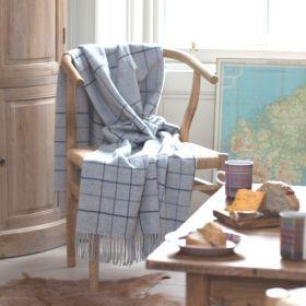 Шотландский плед, 100 %  шерсть ягнёнка,расцветка Замок Тарберт ( вариант Минерал) TARBERT Mineral , плотность 7, жаккард