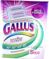Gallus Концентрированный стиральный порошок для стирки белого белья 60 стирок 5 кг