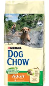 Dog Chow для взрослых собак с курицей