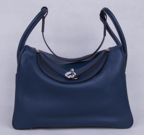 Сумка HERMES Lindy Handbag Clemence Leather