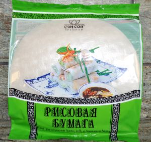 "СЭН-СОЙ Рисовая бумага ""Крупная"", пакет 100гр"