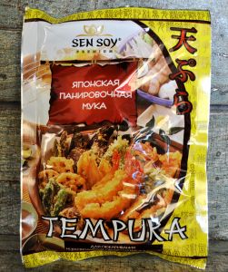 СЭН-СОЙ Японская панировочная мука «Темпура» метал. пакет 150гр