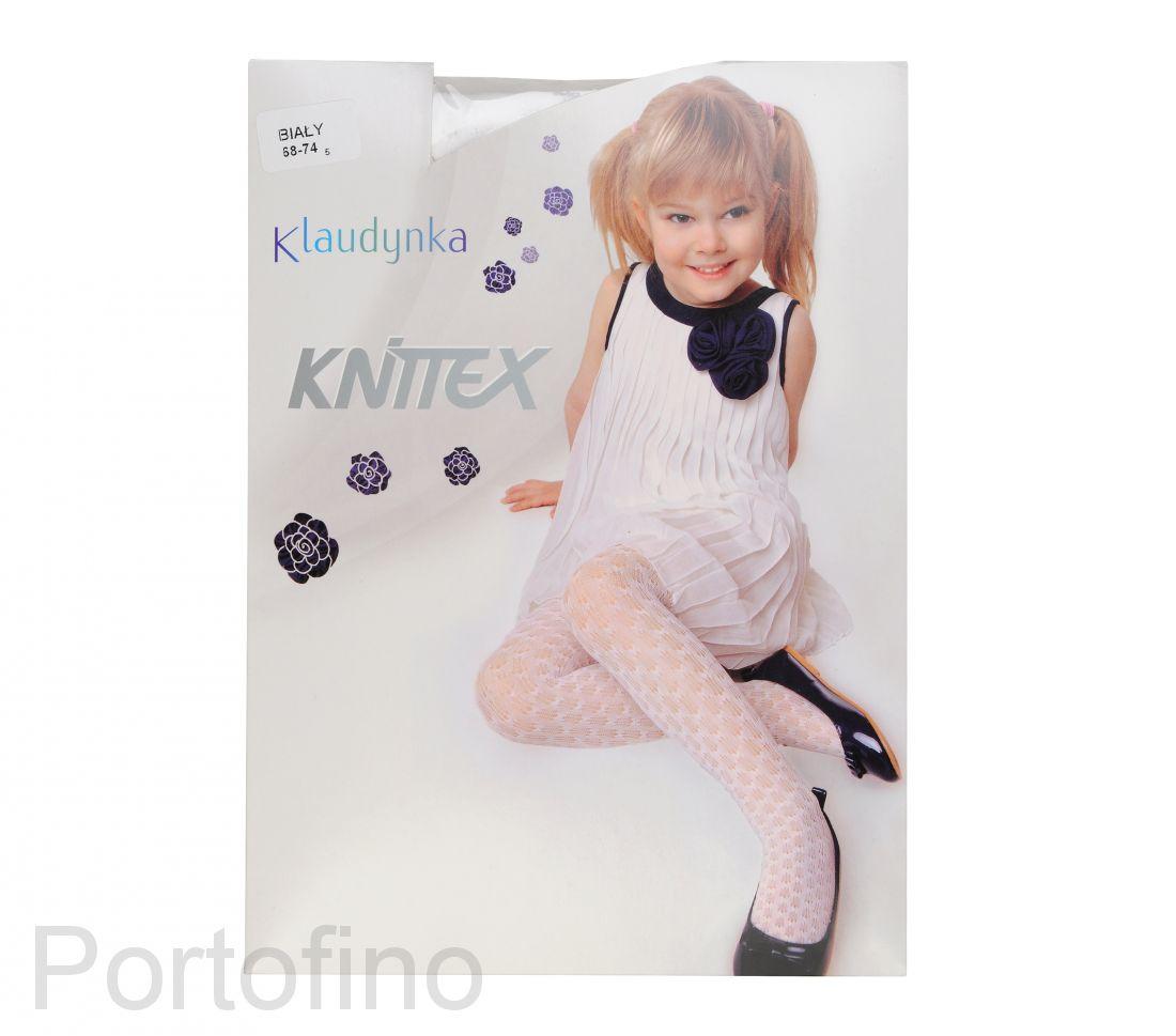 KNITTEX Klaudinka колготки полиамидные с узором 40 DEN