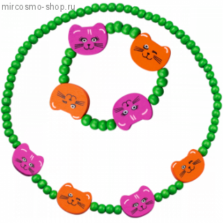 Набор бижутерии Веселые котята, Faberlic