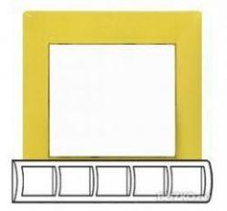 Рамка Legrand Valena 5 постов горизонтальная Фрэш(арт.770045)