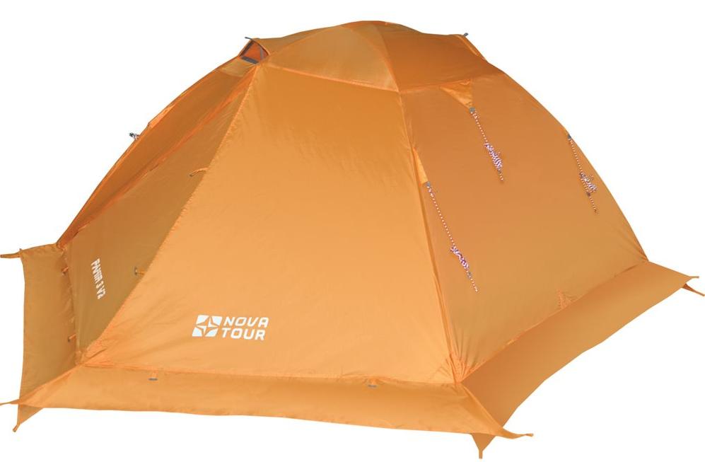 NOVA TOUR ПАМИР 3 V2 трёхместная палатка водостойкая