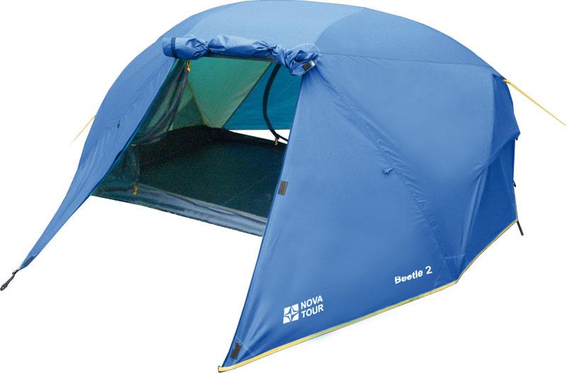 NOVA TOUR БИТЛ 2 двухместная палатка повышенной комфортности