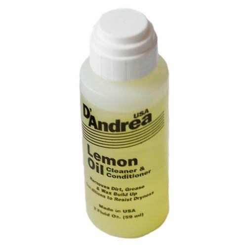 D'ANDREA DAL-2 Масло лимонное для накладки грифа