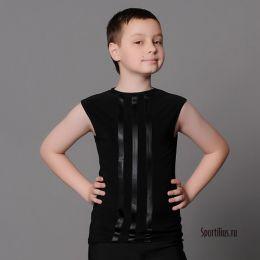 """Танцевальная майка для мальчика """"Лампасы"""""""