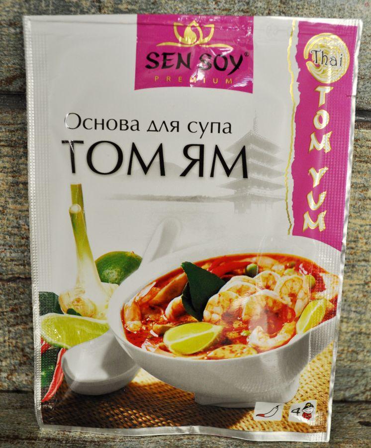 СЭН-СОЙ Основа для супа ТОМ ЯМ, 80г