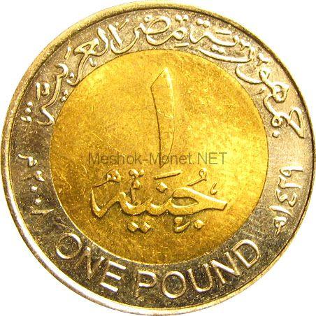 Египет 1 фунт 2007 г.