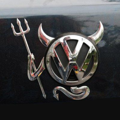 Шильдик для автомобиля (Демон)