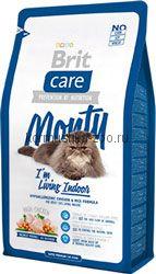 Brit Care Cat Monty для кошек живущих в доме курица/рис