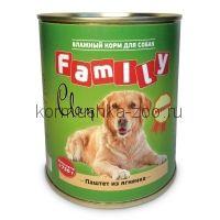Clan Family консервы для собак (паштет из говядины)