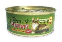 Clan Family консервы для кошек (паштет из курицы)