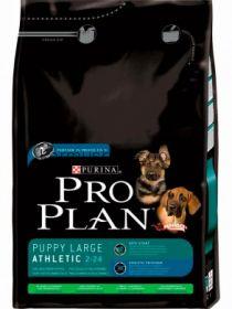 Pro Plan Puppy Large Breed Athletic для щенков крупных пород с ягненком