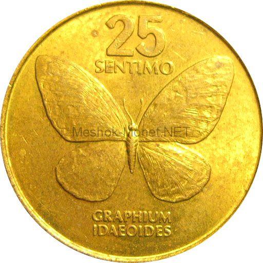Филиппины 25 сентимо 1983 г.